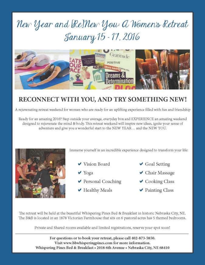 New Year and ReNew You Retreat-Flyer