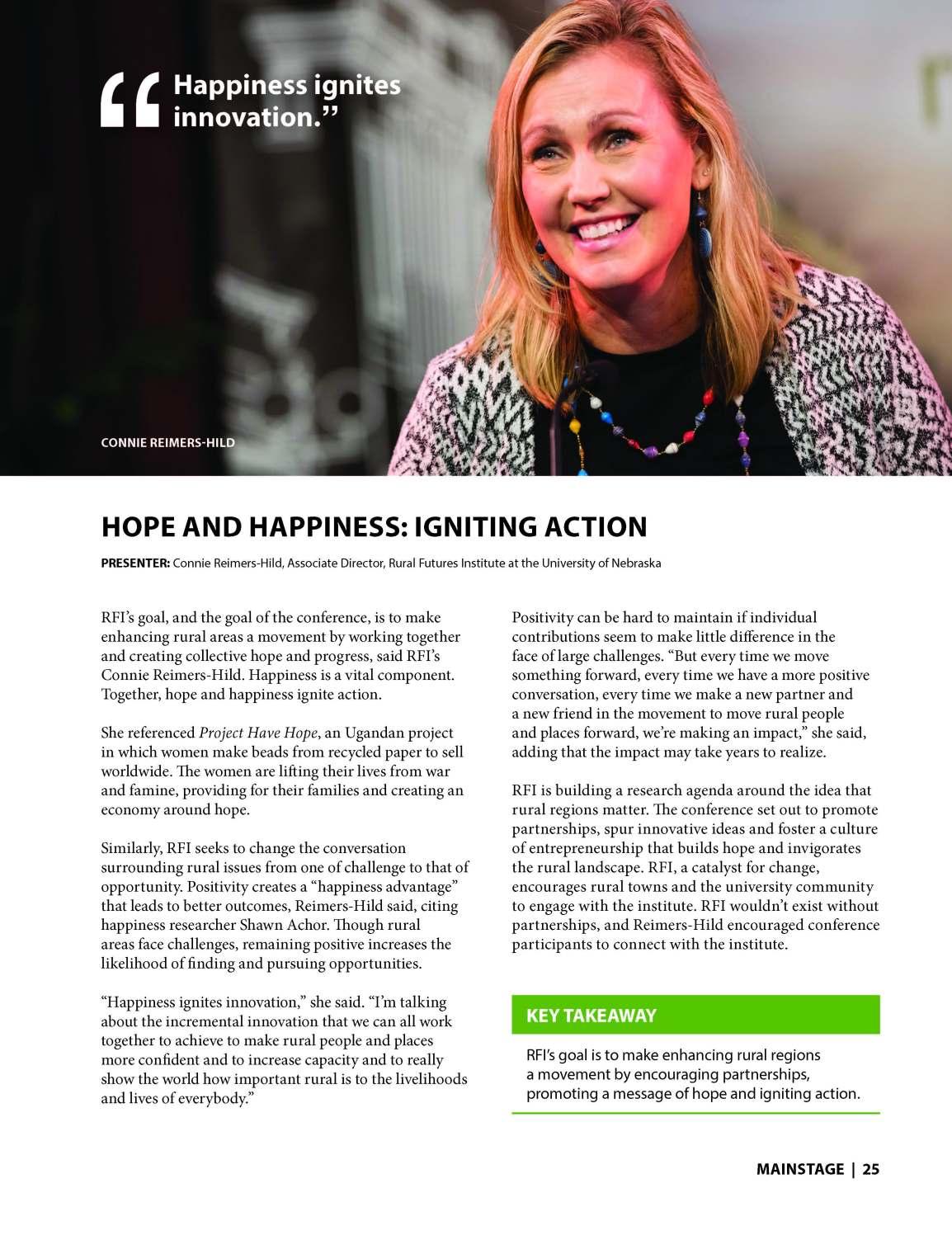 Happiness Ignites Innovation